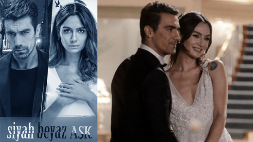 Turkish series Black and White Love english subtitles